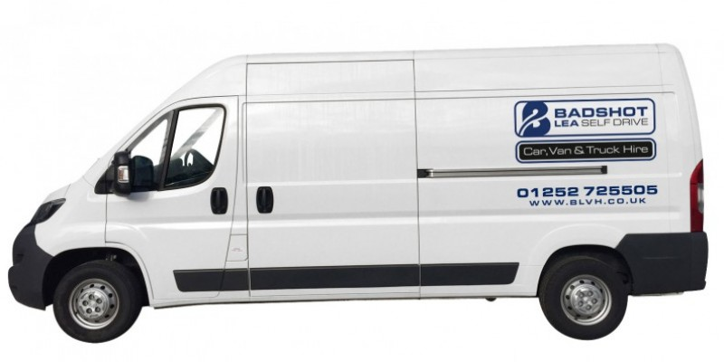 LONG WHEEL BASE HI-TOP PANEL VAN Car Hire Deals from Roman Self Drive