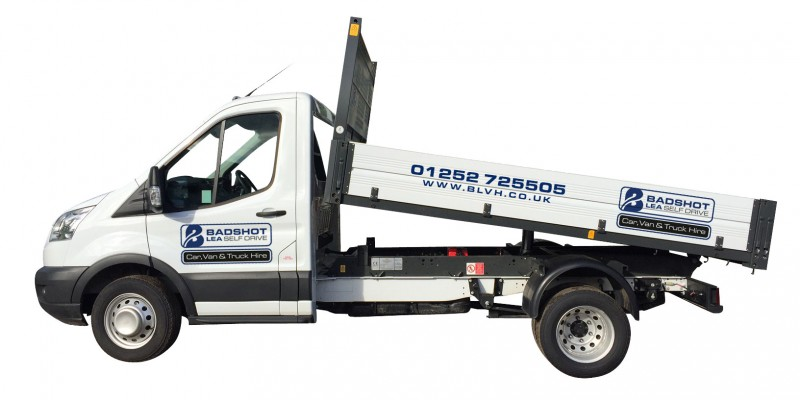 3.5 TONNE TIPPER Car Hire Deals from Roman Self Drive