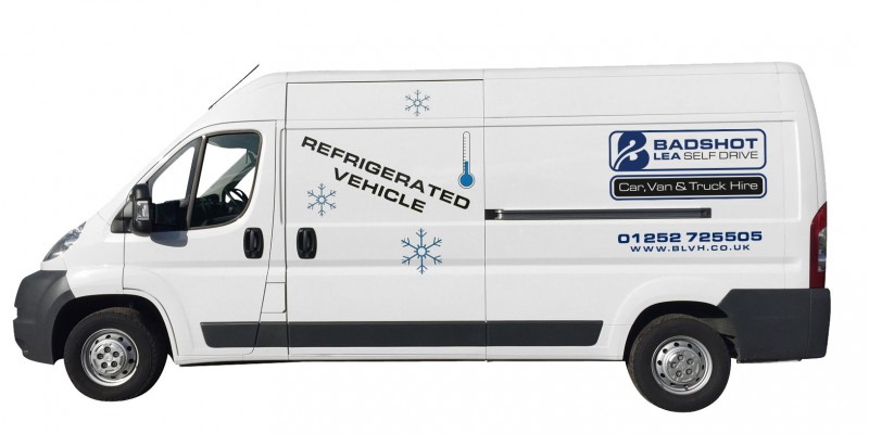 LONG WHEEL BASE HI-TOP REFRIGERATED / CHILLER PANEL VAN