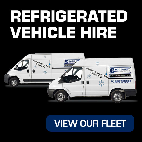 Refrigerated Vehicle Hire from Roman Self Drive