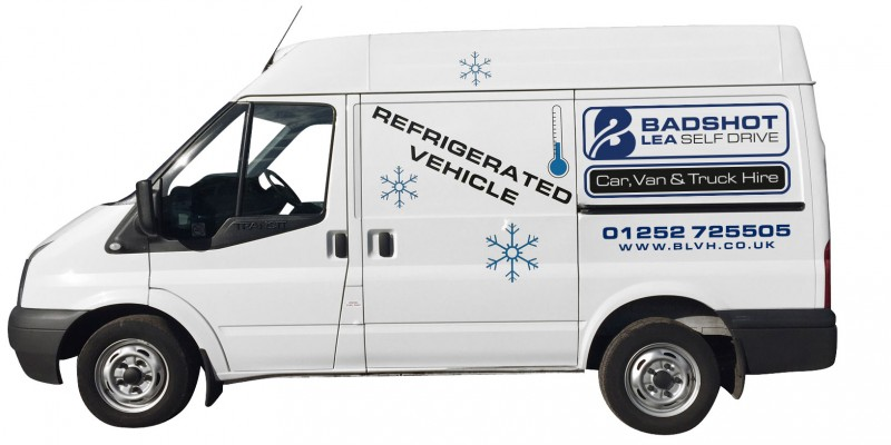 SHORT WHEEL BASE REFRIGERATED / CHILLER PANEL VAN